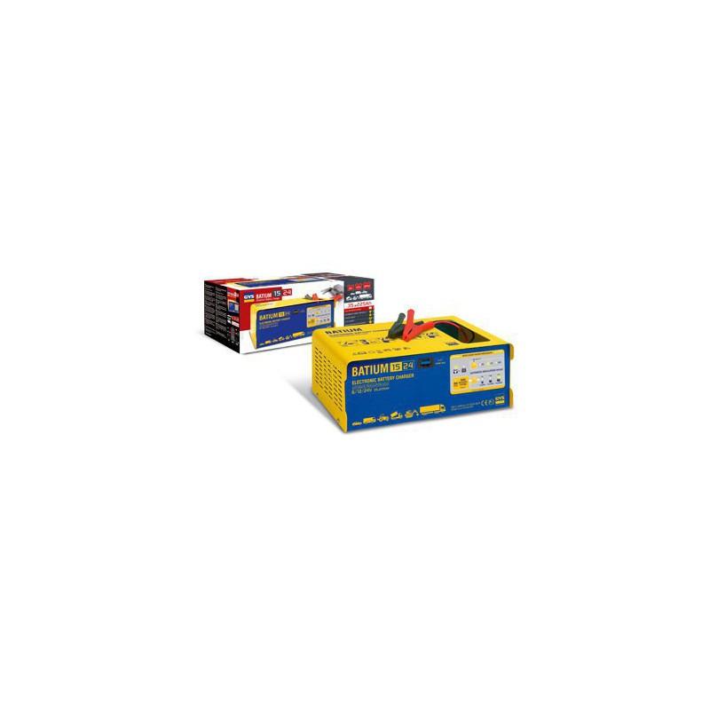 Audacieux Chargeur GYS automatic 6V/12V/24V BATIUM 15.24 GYS - Batterie Discount BL-17